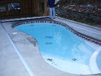 Mandalay Bay Fiberglass Pool and Spa in Wallins Creek, KY